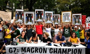 The portraits are some of the reported 128 obtained by activists from alternative and ecological movements from French town halls since February.