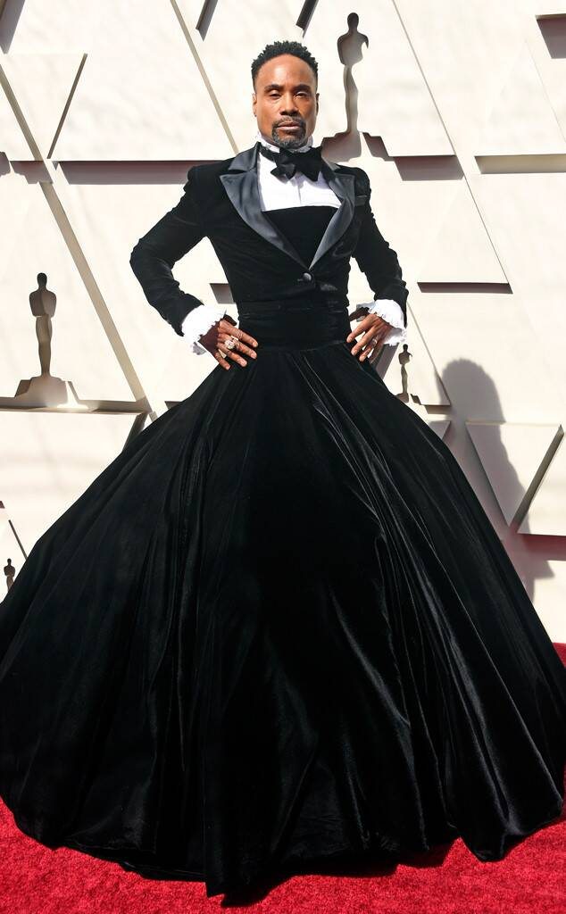 Billy Porter, 2019 Oscars, 2019 Academy Awards, Red Carpet Fashions