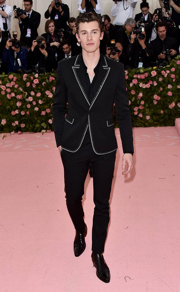 Shawn Mendes, 2019 Met Gala, Red Carpet Fashions