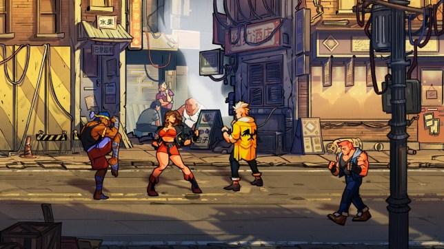 Streets Of Rage 4 - Dotemu do what Sega don't