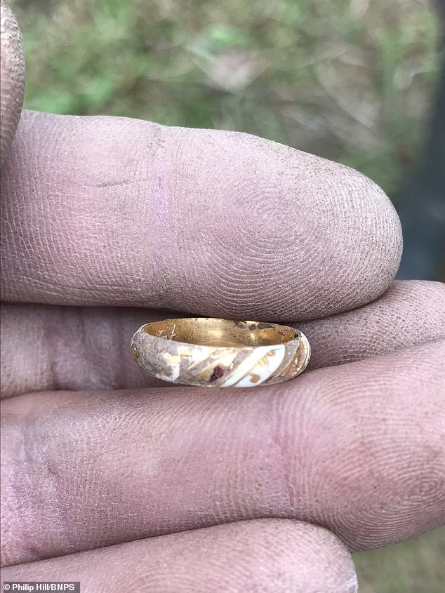 Birmingham Museums and the coroner have been made aware of the ring's discovery, which is due to be inspected in the coming months. if it is classified as 'treasure' then it will be taken away from Ms Kilvert