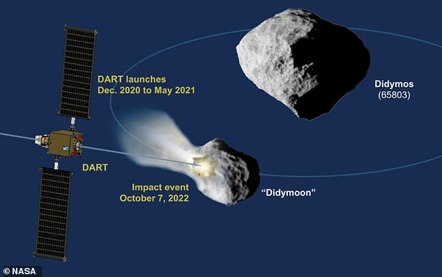 The joint mission, the first launch for which is slated for 2022, will test whether it is possible to deflect an asteroid's orbit in a predictable way