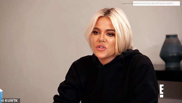 Go: Khloe responds with: 'So just do it already'