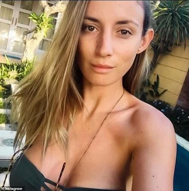 The couple had amassed tens of thousands of followers online before their social media feeds went silent following their arrests (Miss King pictured in Bali in April 2018)