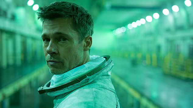 Box office smash: He's also appearing in space-themed movie, Ad Astra