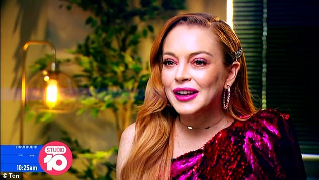 From Hollywood to Ramsay Street! Denise isn't the only international star keen to appear on Neighbours. Earlier this week, Hollywood sensation Lindsay Lohan (pictured) admitted that she would 'love to' have a guest role on the popular soap