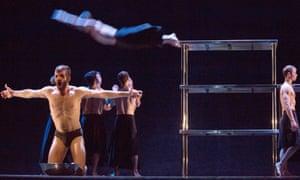 MC 14/22 (Ceci est mon corps) performed by Scottish Ballet at the Edinburgh festival in 2016.