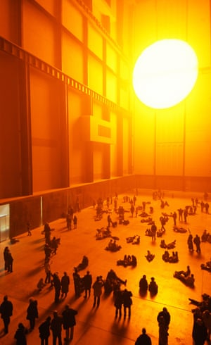 A hallucinatory installation ... The Weather Project.