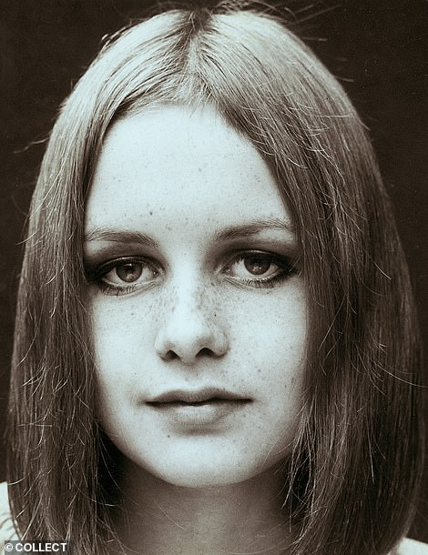Early in 1966, having been told she was too short at 5ft 6in to become a model, Twiggy had her long locks chopped off