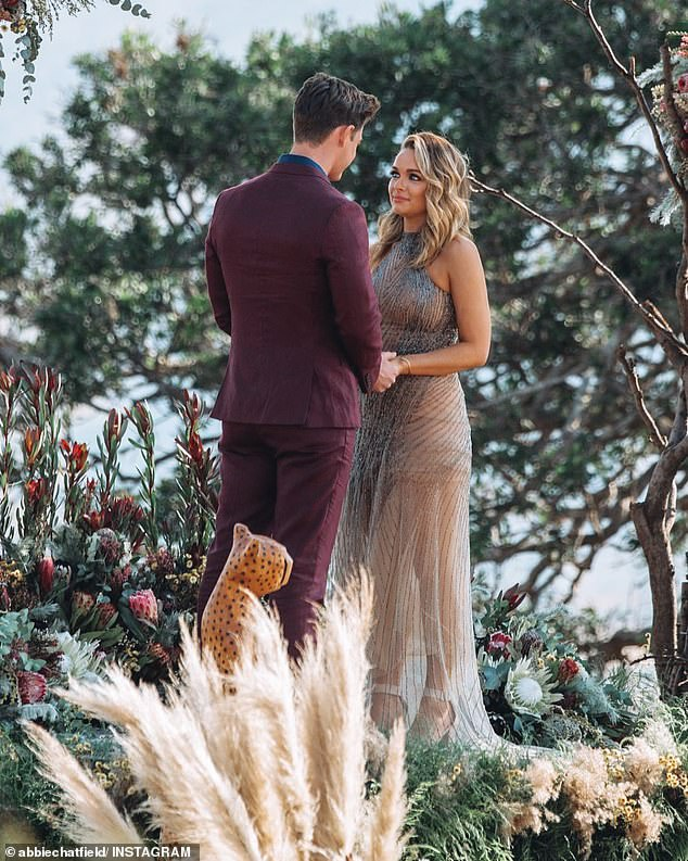 Ouch! During Thursday night's Bachelor finale, Matt let Abbie down gently by telling her that his heart belonged to Chelsie