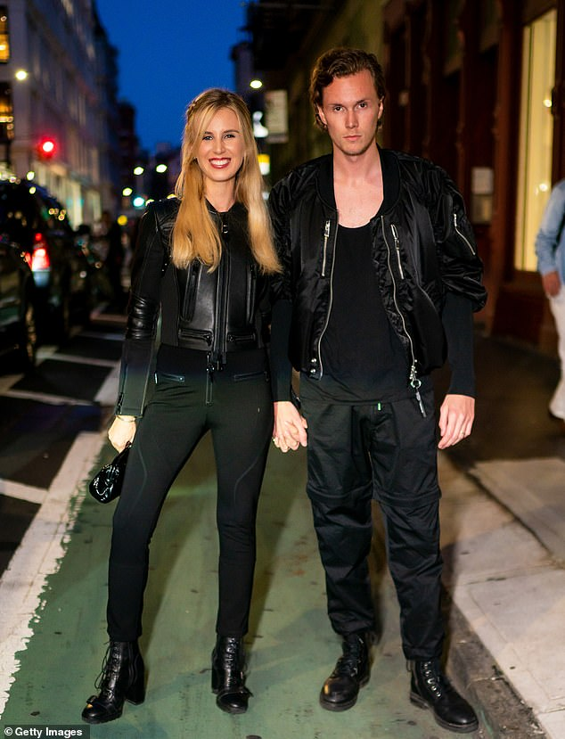Baby on the way:Paris Hilton's younger brother Barron is going to be a father for the first time. The 29-year-old is expecting a baby with his socialite wife Tessa Gräfin von Walderdorff. They were last seen on Sunday at a fashion event but she had no signs of a baby bump in her all-black outfit