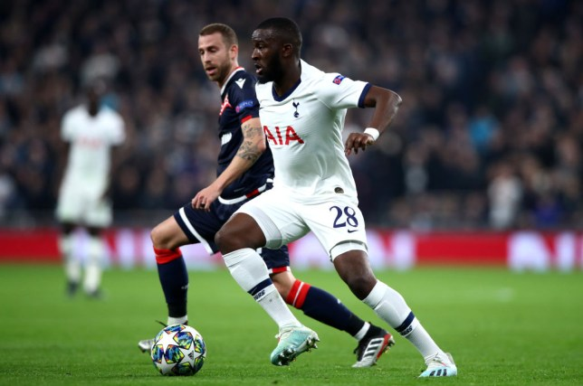 Tanguy Ndombele provided two assists against Red Star Belgrade