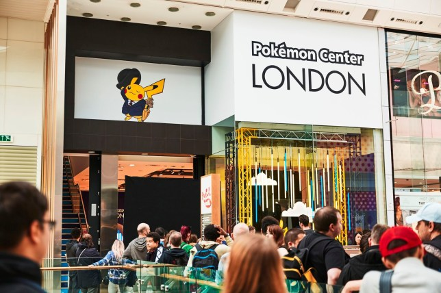 London Pokémon Center (pic: The Pokémon Company)