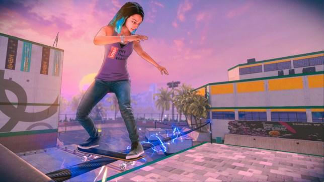 Tony Hawk's Pro Skater 5 screenshot (pic: Activision)