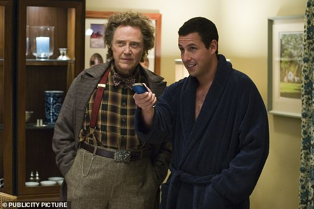 A turn at comedy: In the 2006 film Click with Adam Sandler