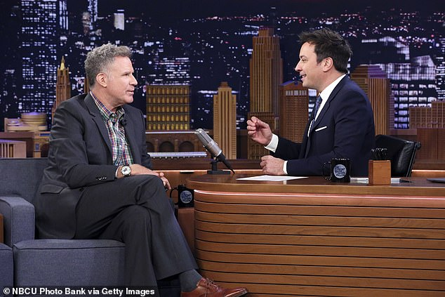 He's sick of it: And on Thursday evening the 52-year-old comedian told Jimmy Fallon during his late night show that the 76-year-old character actor is so sick of being reminded of the skit that he feels it has done him in