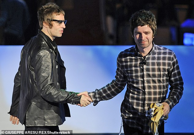 Happier times:'When I eventually see him, he'll realise it's not f*****g banter' Noel said (pictured 2008)