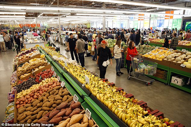 Amazon's sales last year totalled at $232.9 billion, with its physical stores – made up mostly by Whole Foods – accounted for around seven percent of that, or $17.2 billion