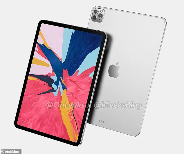 Last December, the public may have received the first look at the next-generation iPads that suggest the devices will mirror the iPhone 11 Pro with the same triple rear cameras.
