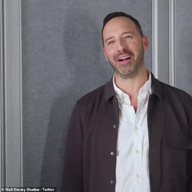 Tony's question: Toy Story 4 star Tony Hale asks, 'Who is the Skywalker,' before complaining that he used up all his miles to fly out there
