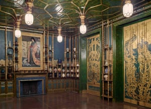 Darren Waterston's recreation of Whistler's Peacock Room, at the V and A.