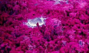New vision … a house on the Catrimani River, Roraima, shot on infrared film in 1976.