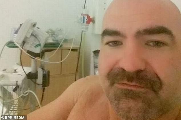 He is now in isolation at Queen Elizabeth Hospital where he is awaiting blood test results to see if he has the virus