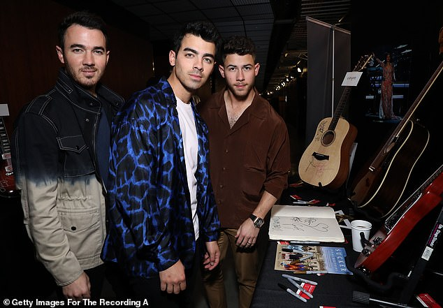 Vegas, here they come: The Jonas Brothers announced Friday morning that they'd be the next act to call Park MGM 'home' during their Las Vegas residency in April of this year