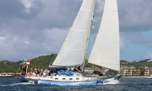 Rubicon 3 sailing boat
