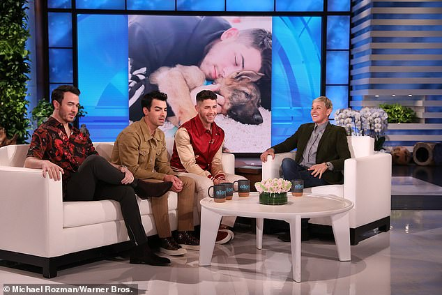 They're everywhere: The Jonas Brothers have been infiltrating the screens and homes of many this week, after appearing on both the Ellen show and Late Night with Seth Meyers