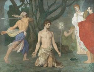 Pierre-Cécile Puvis de Chavannes, The Beheading of Saint John the Baptist, about 1869.