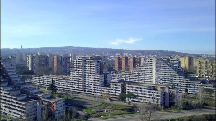 "View of Scampia's ""Vele"""