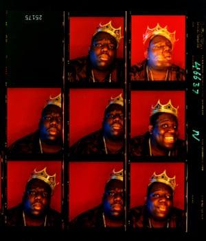 Barron Claiborne - Biggie Smalls, King of New York, Wall Street, New York, 1997