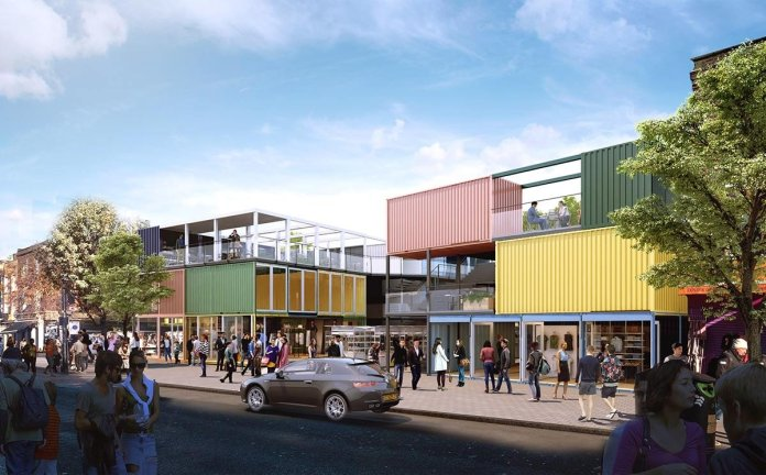 Four new retailers to open at London's first eco-market