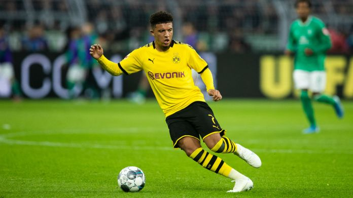 Jadon Sancho has impressed for German club Borussia Dortmund