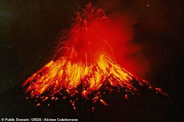 Tungurahua — which has been active now since 1999, when an eruption (pictured) forced the evacuation of around 25,000 people from the surrounding area — has had a long history of undergoing flank collapse