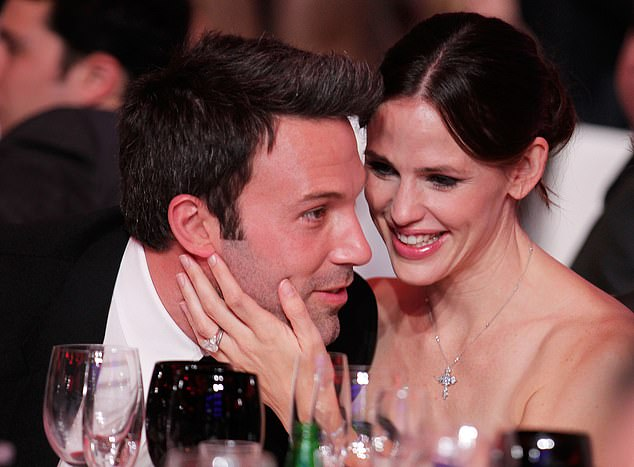 'I would love to have a relationship that is deeply meaningful and one to which I could be deeply committed,' Affleck told Sawyer. The 47-year-old is pictured with ex-wife Jennifer Garner in 2011