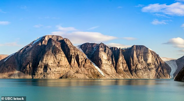 TheUniversity of British Columbia researchers say the rock samples from Canada's Baffin Island (pictured) are like 'a missing piece of a puzzle'