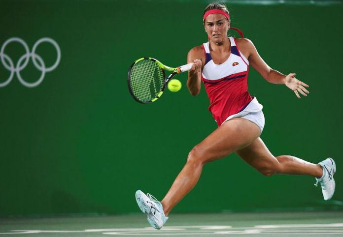 © Reuters. FILE PHOTO: Tennis - Women's Singles Gold Medal Match