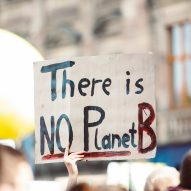 Photo of climate protests in Schlossplatz