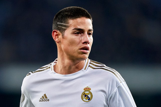 Arsenal transfer target during Real Madrid's Copa del Rey clash with Real Sociedad