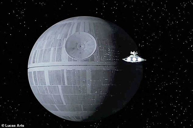 The telescope image shared by NASA resembles the spot on the Death Star from Star Wars, although the telescope is being designed for friendlier purposes