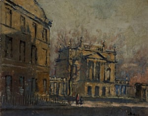"""The Holburne of Menstrie Museum, Bath, 18 January 1940, by Paul Ayshford Methuen (1886-1974)"""