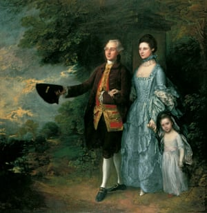 """The Byam Family, c1762–1766, by Thomas Gainsborough (1727-1788)"""
