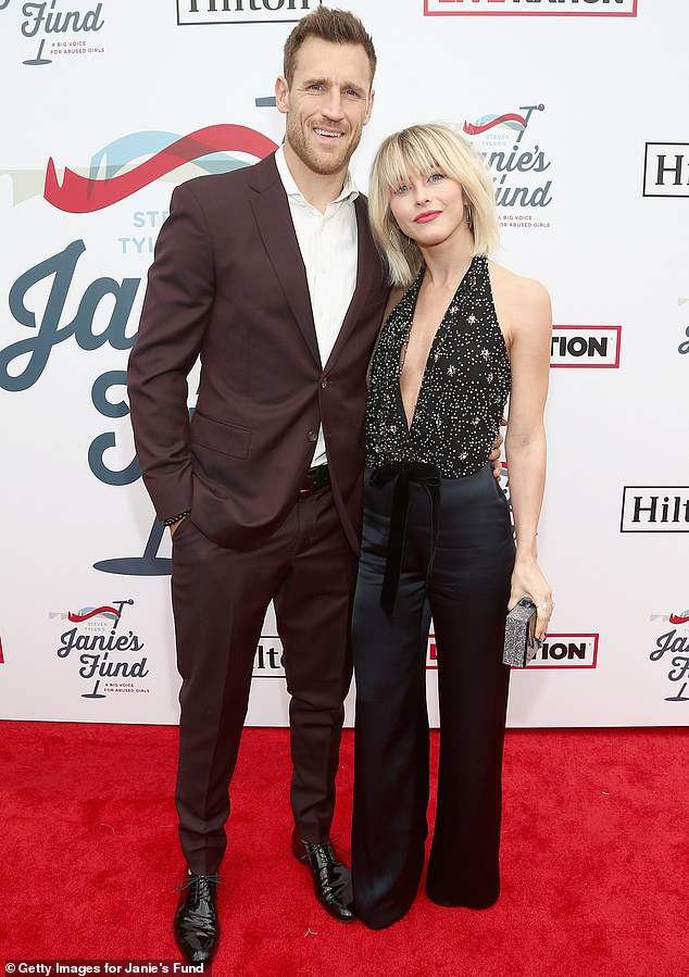 End of the road: Julianne Hough and Brooks Laich have announced their separation less than three years after getting married