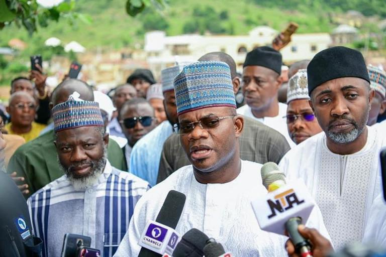 Governor Bello vows to sustain onslaught on criminals
