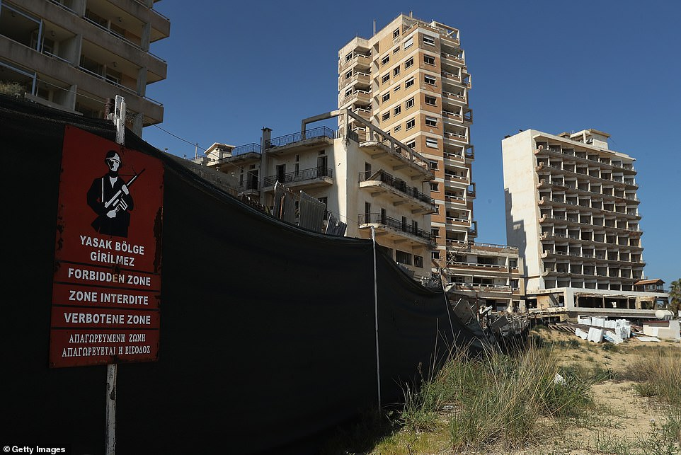 Since its closure, Varosha has been a popular destination for photographers who are interested in its worn out style. They have to ignore signs showing that it is a strictly forbidden zone and dodge those who patrol its borders