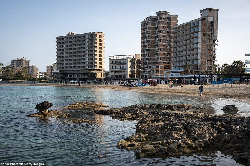 At its peak, Varosha was described as the French Riviera of Cyprus and attracted a host of star names from Hollywood