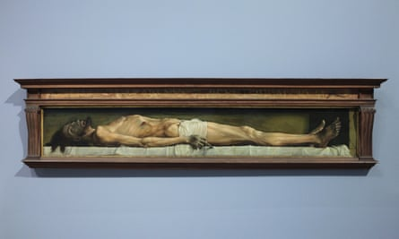 Simply a man .... The Body of the Dead Christ in the Tomb, 1520-22.