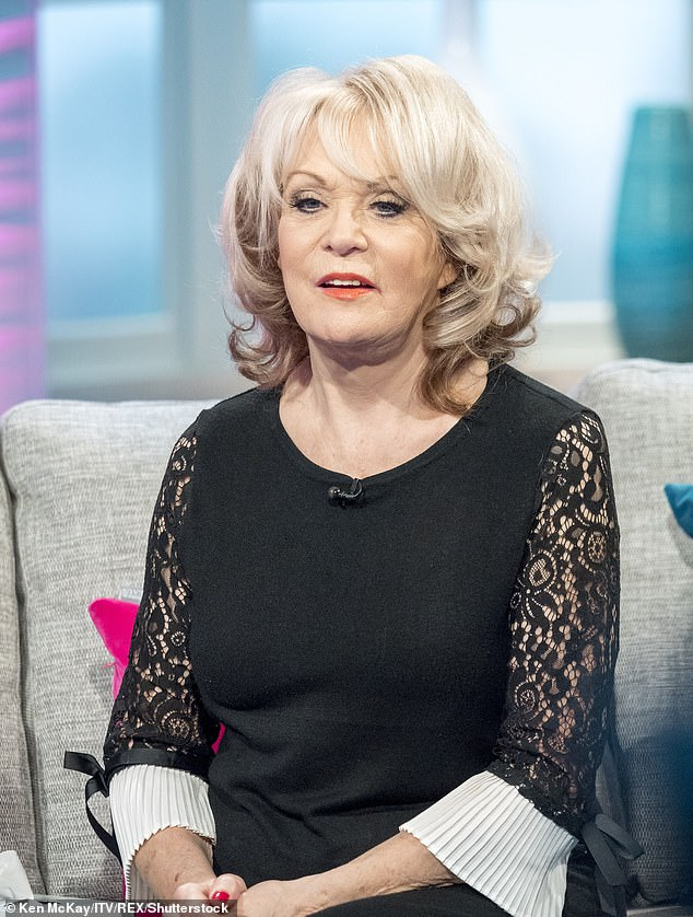 Convinced: Sherrie Hewson has said she believes her brother had coronavirus when he died of a brain tumour (pictured in 2018)